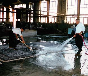 Hur tvättar man en matta